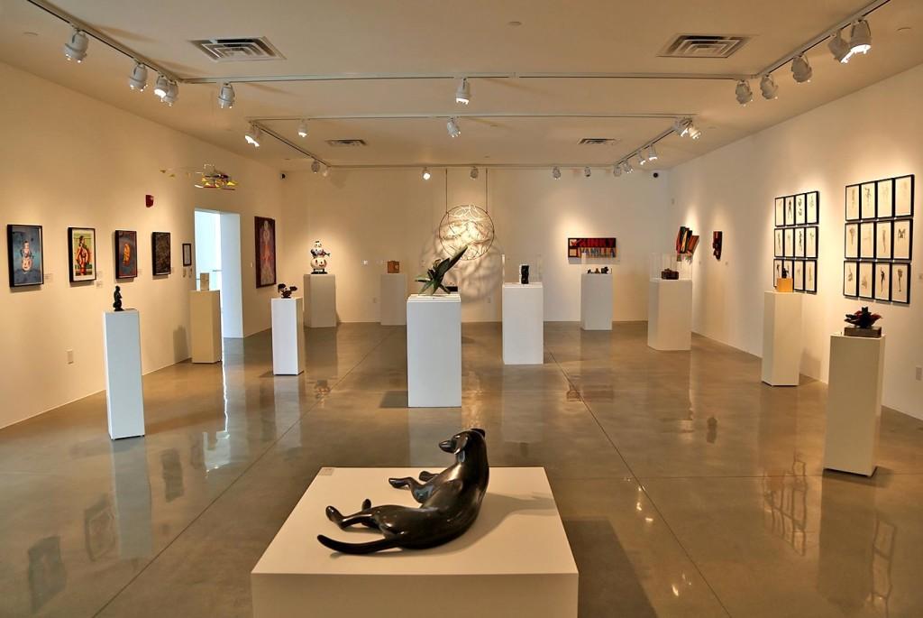 Upstairs Gallery at MOAH